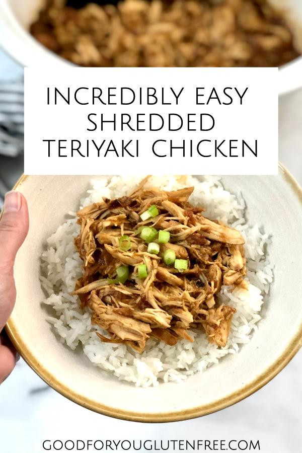 Easy shredded teriyaki chicken recipe slow cooker
