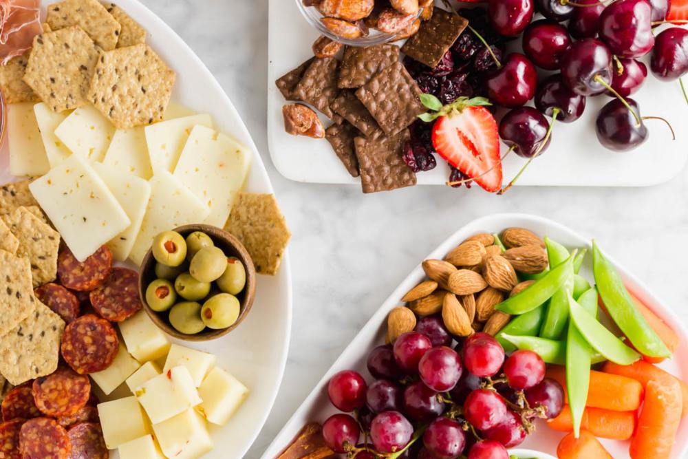 Three Kid-Friendly Snack Boards