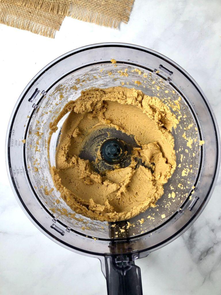 "Picture of ""dough"" inside food processor"