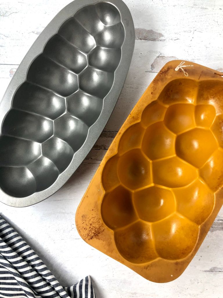 Challah mold pans - side by side comparison