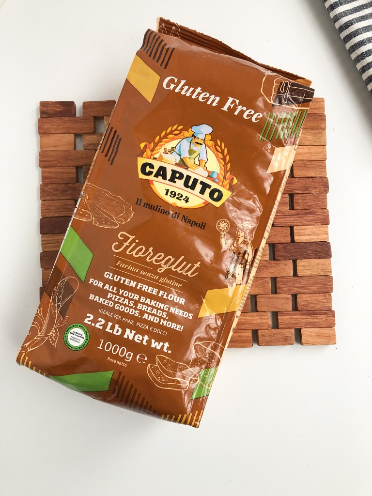 Picture of Caputo gluten-free flour packaging