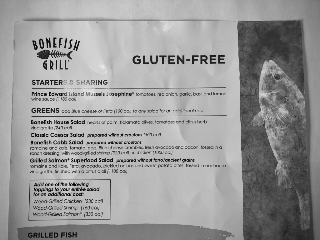 bonefish grill gluten-free menu