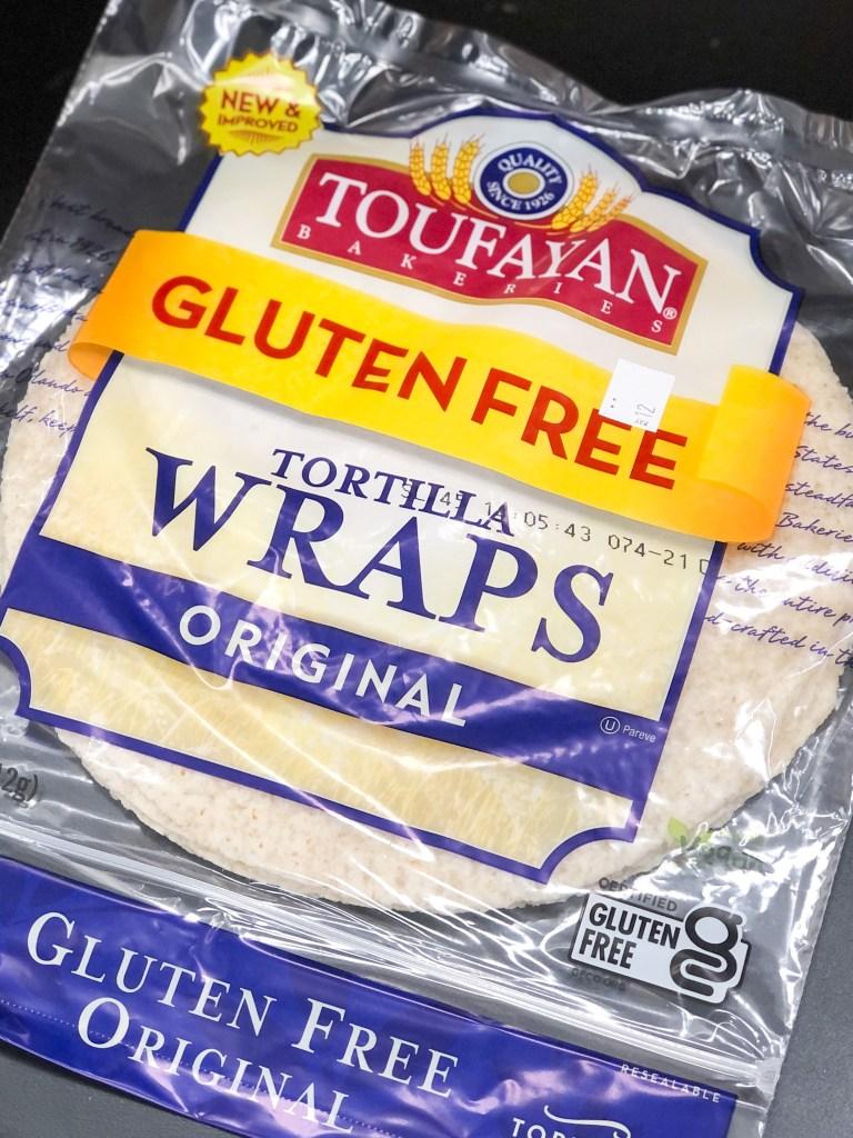 Toufayan Bakery tortilla wraps