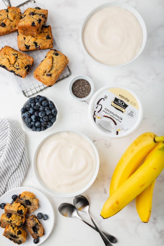 ingredient for yogurt bowls