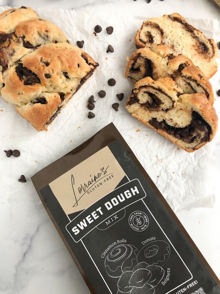 Lorraine's Sweet dough mix with gluten-free babka