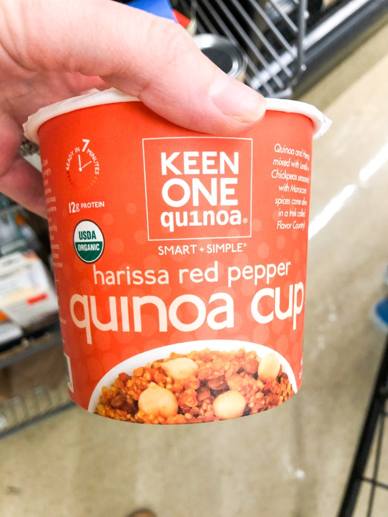 Keen One quinoa cup to go
