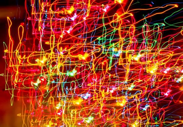 Random Colored Light Swirls image Free stock photo