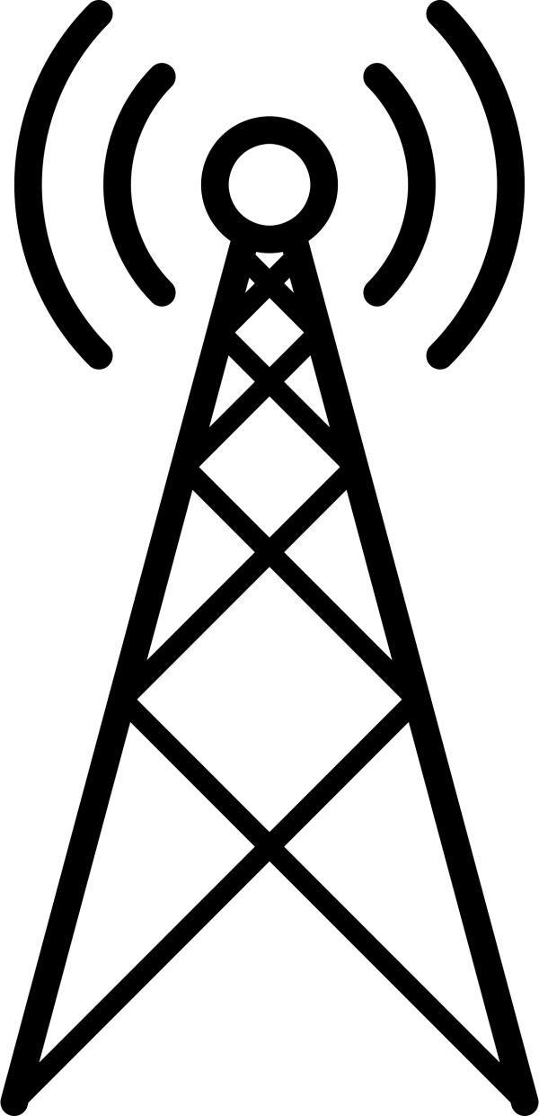 Signal Tower Vector Clipart image - Free stock photo ...