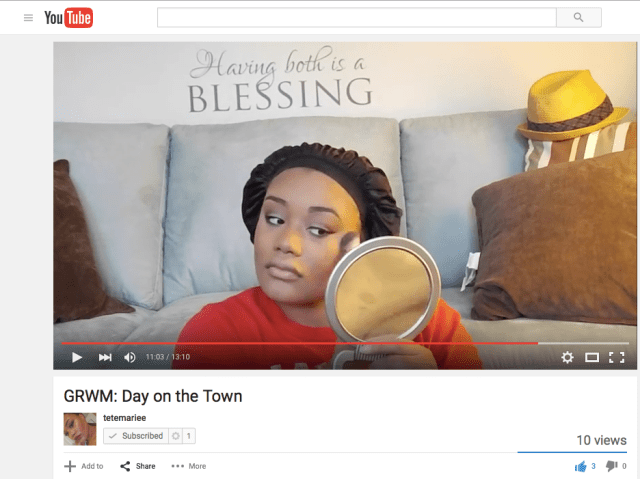 New Youtuber Tetemariee Launches Beauty Fashion Channel And First Grwm Video Goodgirlgonefab We engineered vimeo's player with a single goal in mind: goodgirlgonefab
