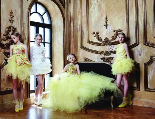 Mischka Aoki zomer 2015 collectie_feesturken voor meisjes_communiejurken voor meisjes_bruidskleding voor meisjes_couture voor meisjes