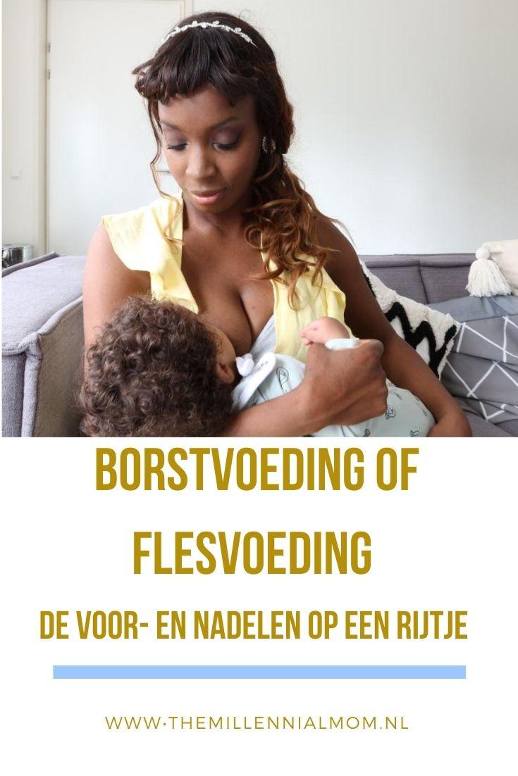 Borstvoeding of flesvoeding_De voor- en nadelen op een rijtje_The millennialmom