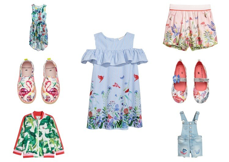 H&M Exclusive Kids collection Michelle Morin