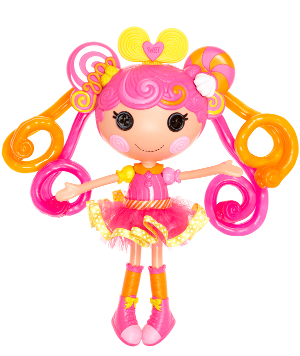 Lalaloopsy Stretchy Hair-GoodGirlsCompany-meisjesspeelgoed-poppen- kinderspeelgoed- binnen spelen met slecht weer