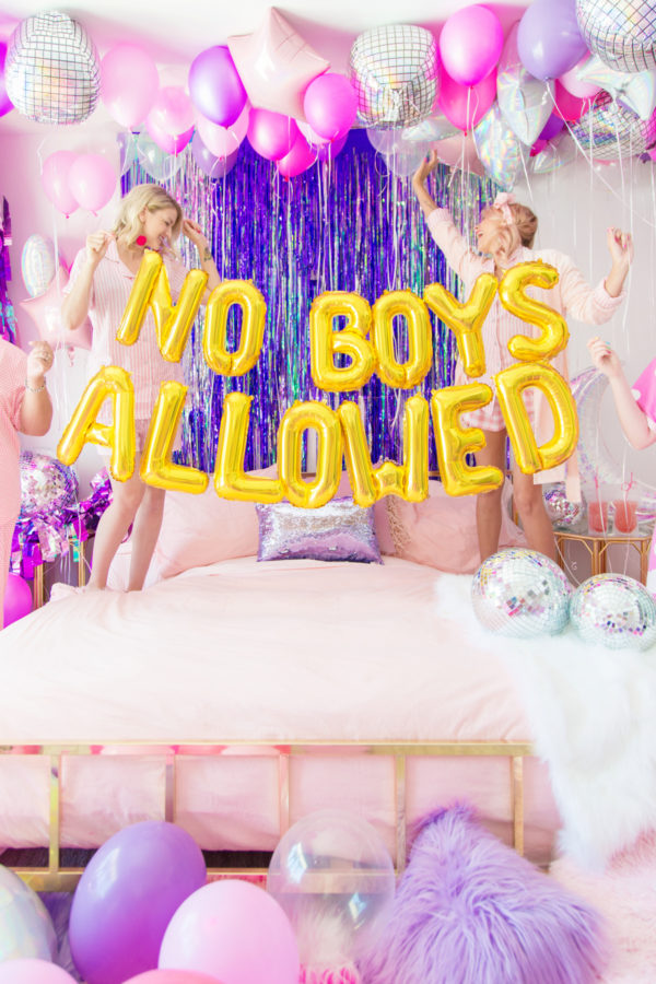 No-Boys-Allowed-slaapfeestje idee