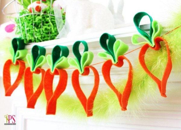 vilt paaslinger met wortels
