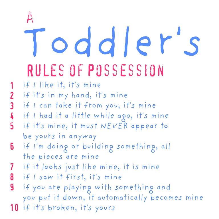 Religieuze kinderen zijn egoistischer en gemener-gelovige kinderen zijn gemener- toddlers rules of posession