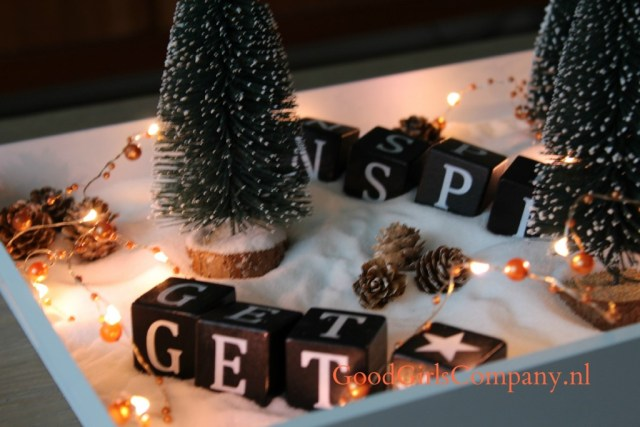 Winter Wonderland DIY-kerstspullen van de Action-GoodGirlsCompany