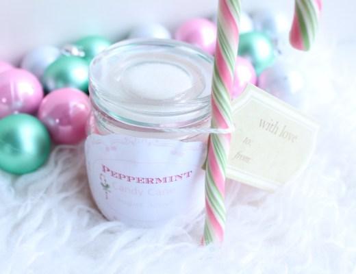 Peppermint Candy Cane Sugar Scrub-GoodGirlsCompany