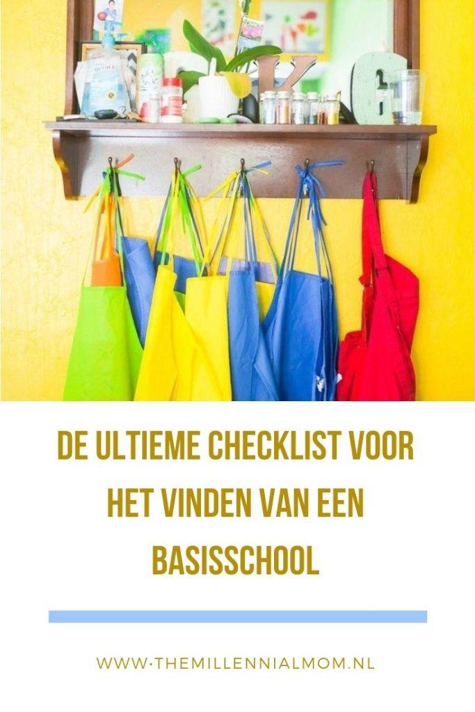 checklist basisschool kiezen