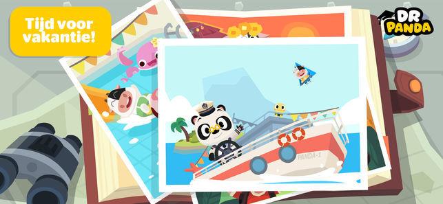 Dr Panda vakantie