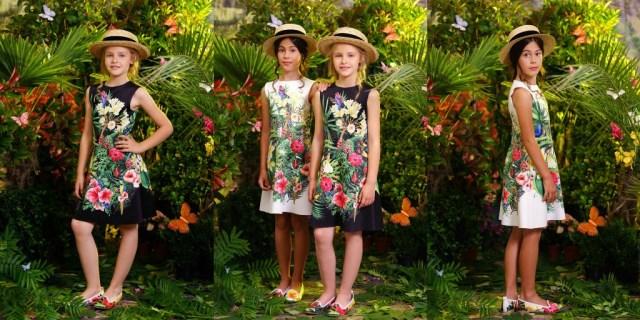 Love made Love jungle jurkje-GoodGirlsCompany-zwart jurkje voor meisjes