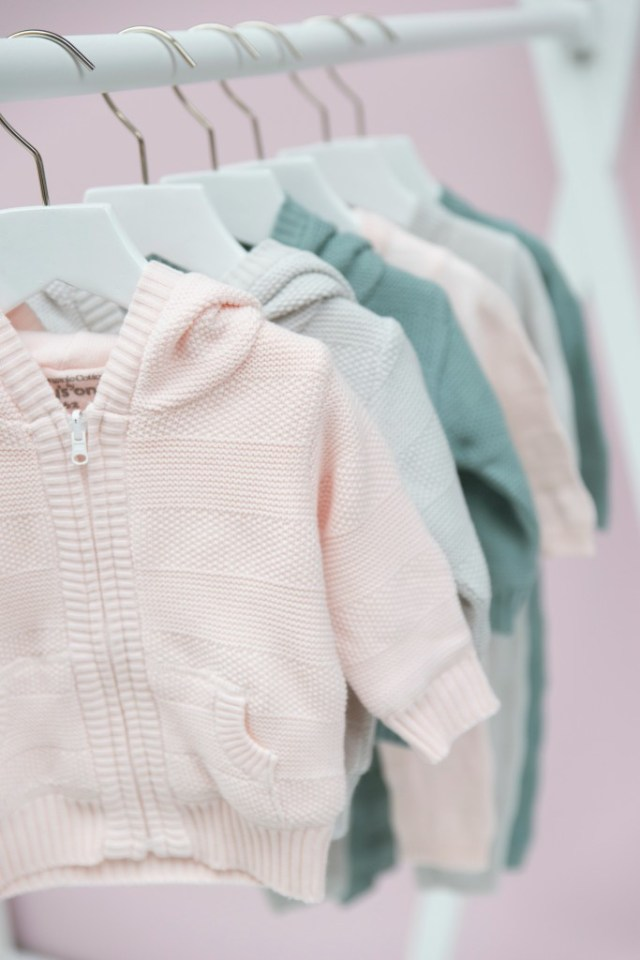 capuchon vest-GoodGirlsCompany-babys only-pastel