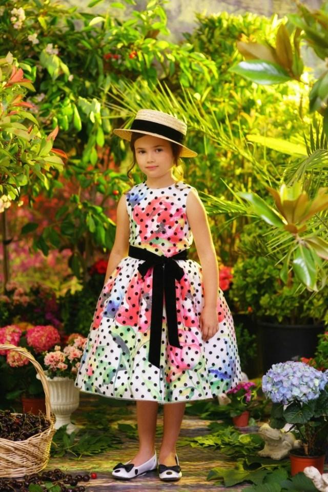 jurk met polkadots-GoodGirlsCompany-witte jurk met bloemen