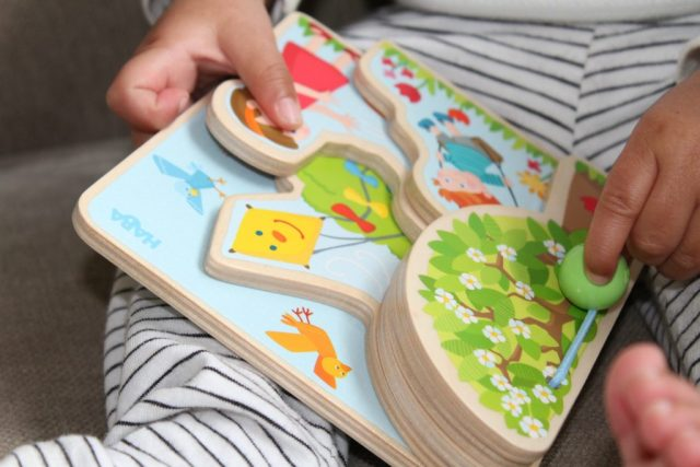Haba houten boekje-Houten speelboom-GoodGirlsCompany
