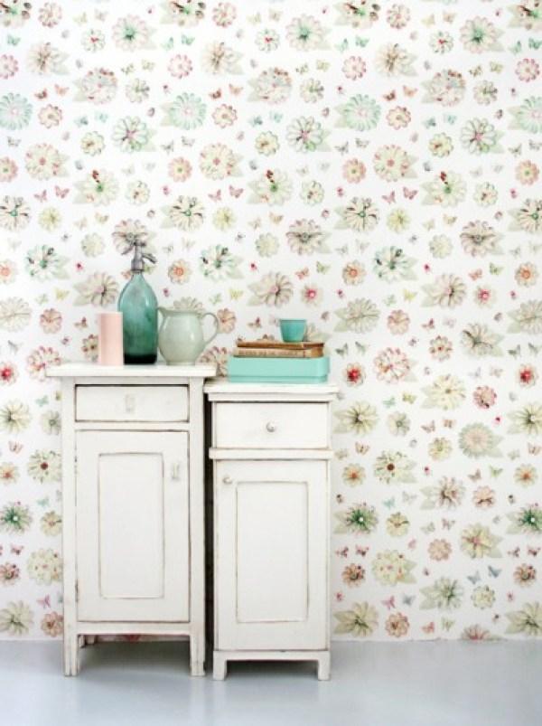 Studio Ditte-GoodGirlsCompany-behang met bloemen