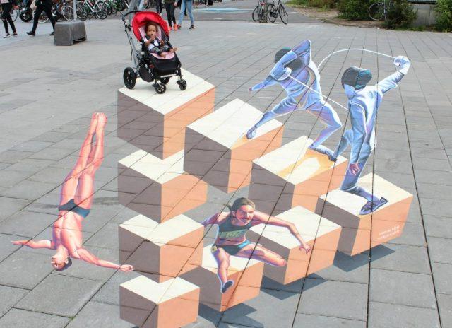 World Street Paint Festival 2016_GoodGirlsCompany_3D straattekeningen