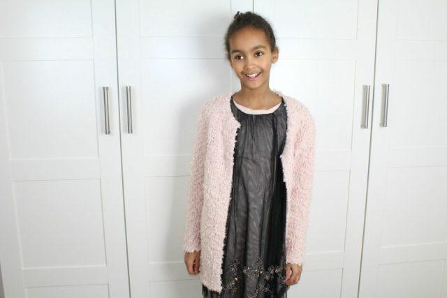 Zara-sale-tule-jurk-maat-met-roze-vest-152-GoodGirlsCompany
