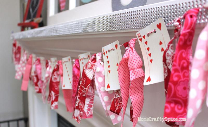 slinger voor Valentijnsdag