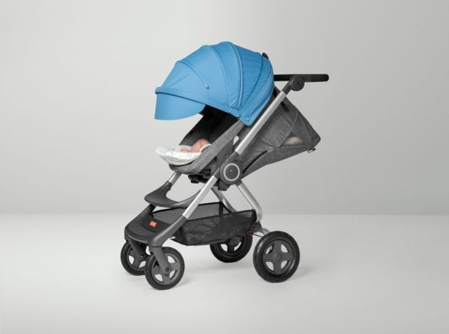 Stokke-Scoot-Black-Melange-Blue-Newborn-Insert-Confetti-Blue-GoodGirlsCompany