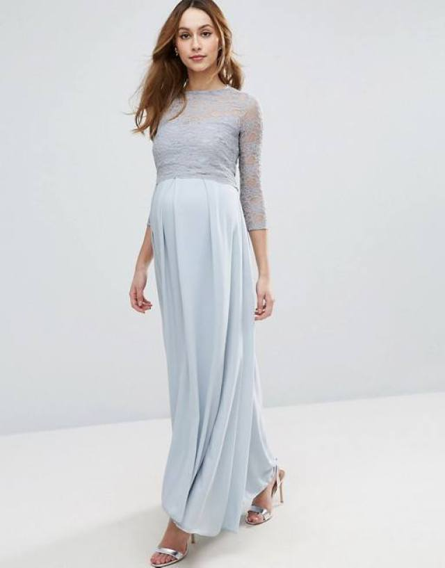 Queen-Bee-Lace-Bodice-Maxi-Dress-With-Pleated-Chiffon-Skirt-GoodGirlCompany