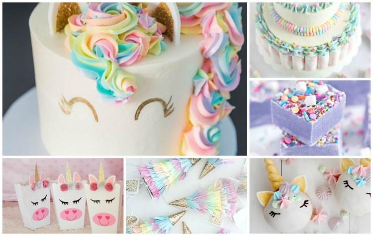 De beste hapjes kleding en inspiratie voor een Unicorn party!