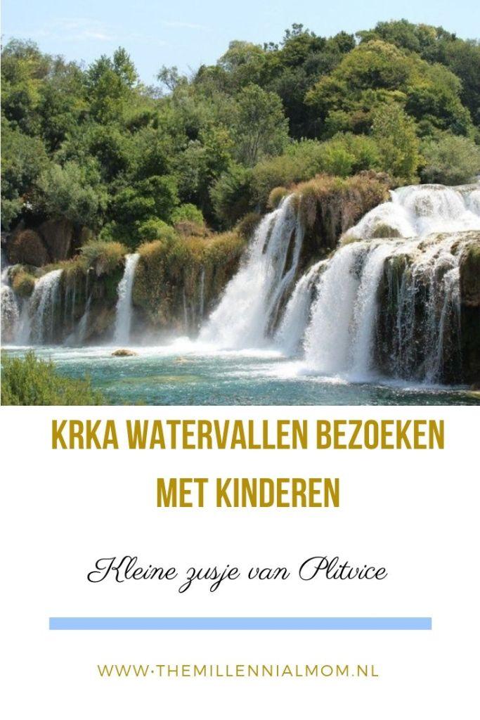 Krka watervallen bezoeken met kinderen