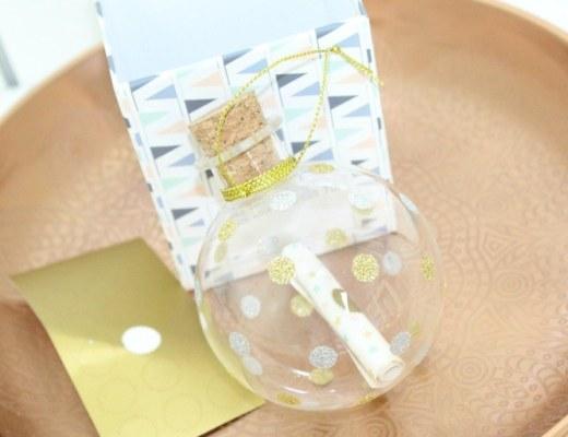 Baby's eerste kerst Milestone keepsake ornament