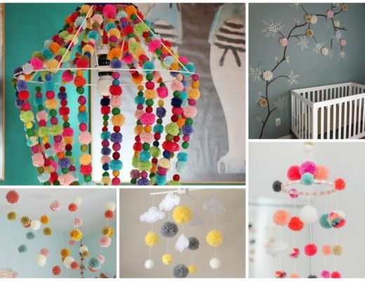 Trends Pom Poms in de kinderkamer