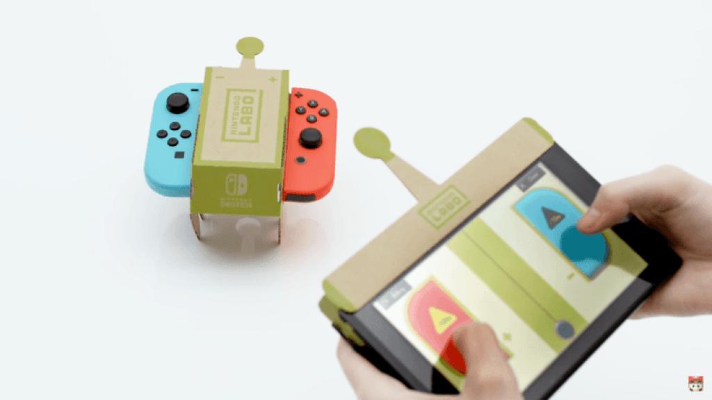 Nintendo-Labo-bestuurbare auto-GoodGirlsCompany