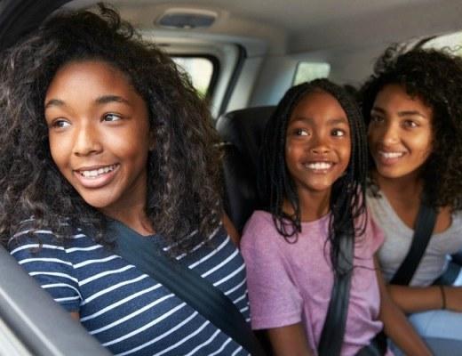 Kind met de auto naar school brengen, verworven recht