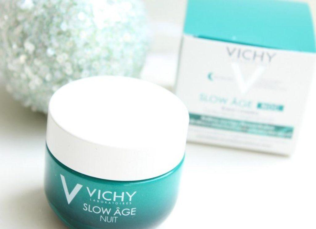 vichy slow age nachtcreme gezichtsmasker