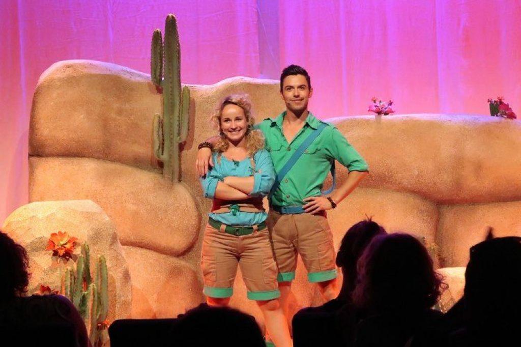 musical Zoe en silos Burgers zoo