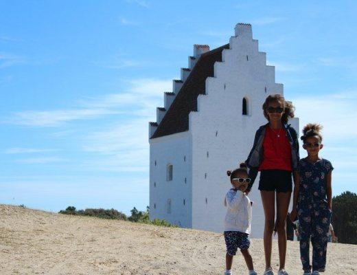 Den tilsandede kirke verzande kerk Skagen