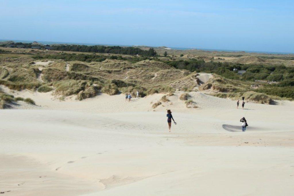 Rabjerg Mile wandelende zandduin