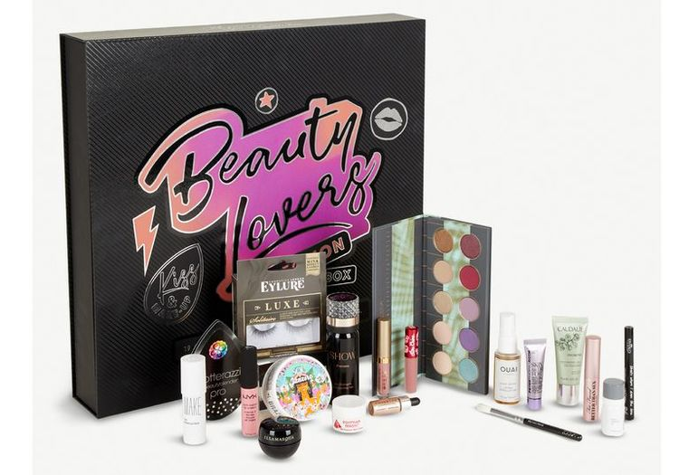 beauty adventskalender van Selfridge
