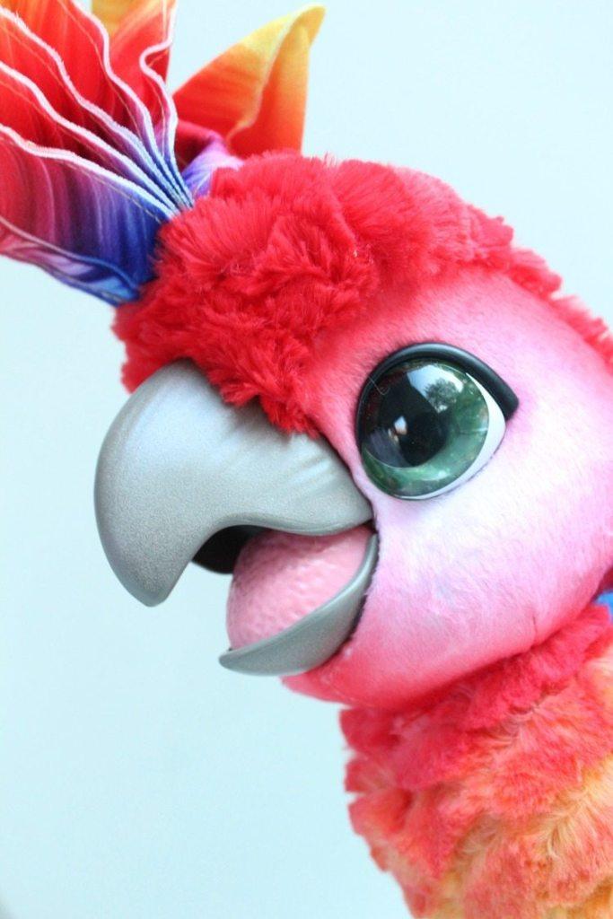 FurReal Friends Rock-a-Too papegaai