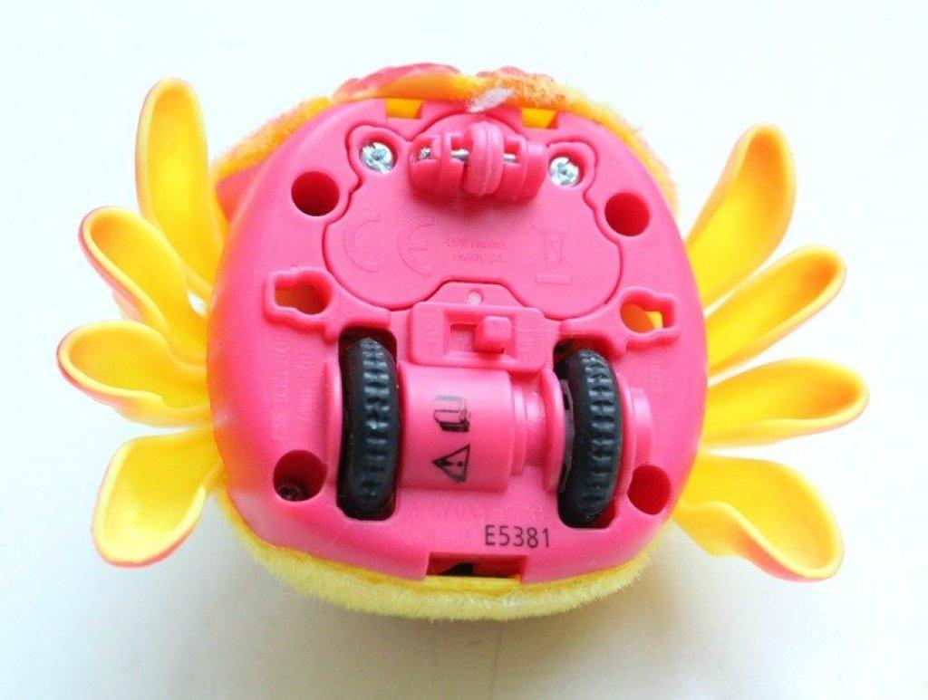 interactieve speelgoed spinnen die reageren op geluid