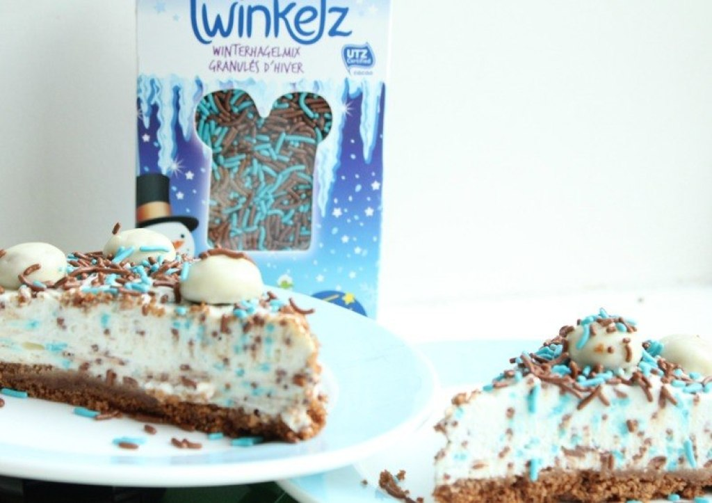 No bake pepernoten winter cake