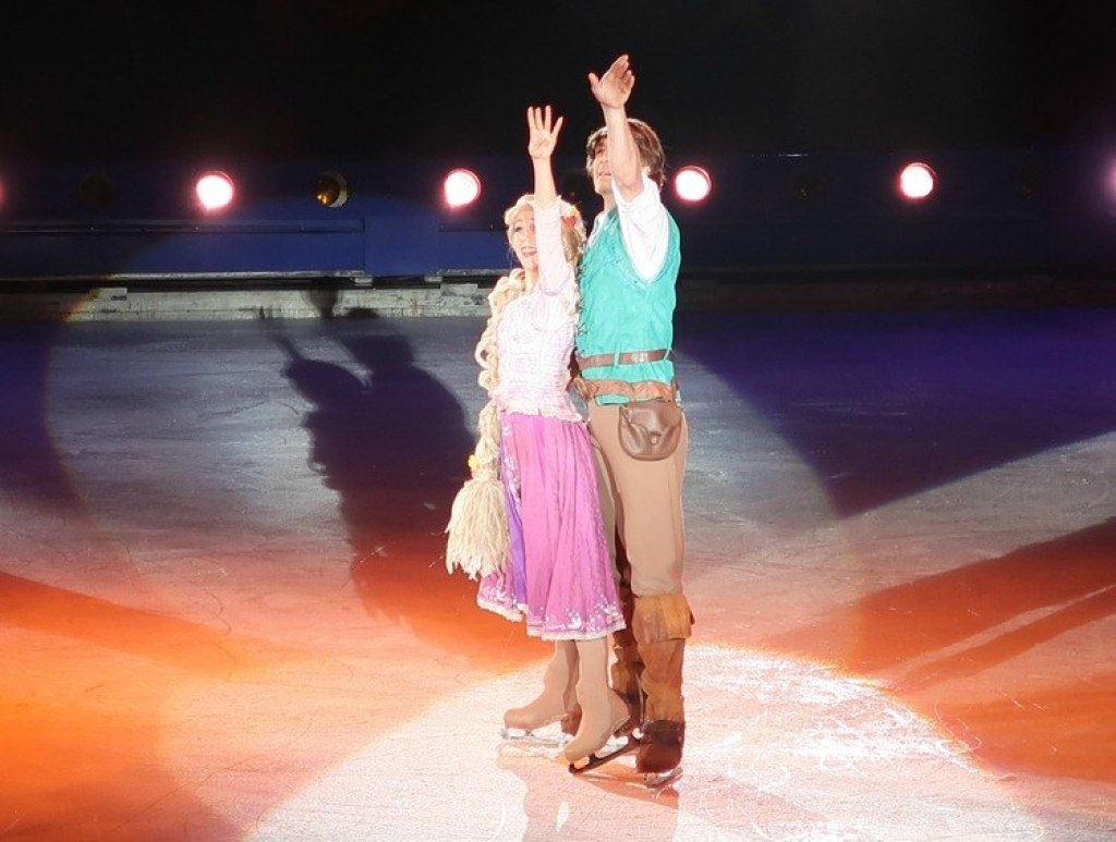 Rapunzel Disney on Ice