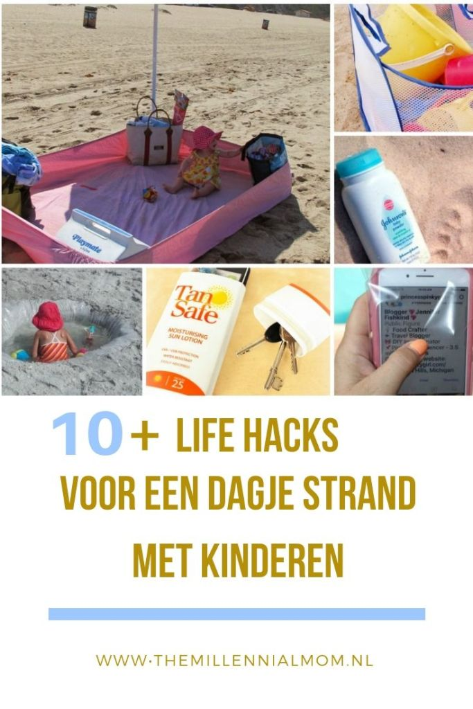 life hacks voor strand